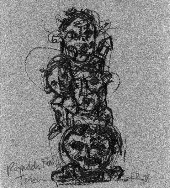 Works On Paper Reynold's Family Totem