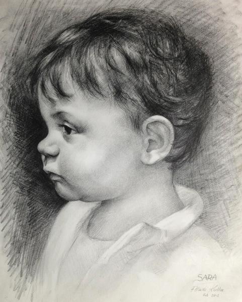 Go Back Gallery For Portret I Vizatuar Me Laps