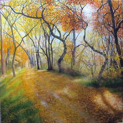 David Bottini: paintings 'for Gabriel'