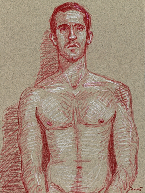 "- ""Erotic Life Drawings"" - <i>Warning: Adult Content, please be 18 to view</i> ""Adam - Life Drawing"""