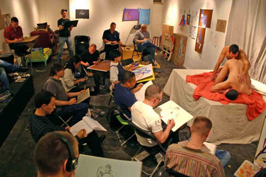 "- ""Erotic Life Drawings"" - <i>Warning: Adult Content, please be 18 to view</i> Erotic Life Drawing Group Photo"