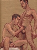 "- ""Erotic Life Drawings"" - <i>Warning: Adult Content, please be 18 to view</i> Color Pencil on Toned Paper"