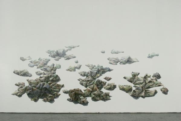 Gina Ruggeri Paintings Acrylic on Mylar cut-out