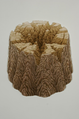 Gina Ruggeri Paintings Acrylic on plywood cut-out