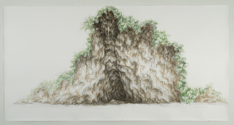 Gina Ruggeri Drawings Graphite and watercolor on paper