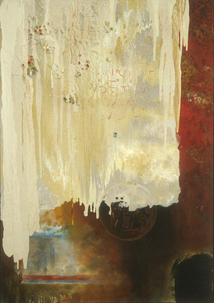 Harry Powers     Paintings and Sculpture Homages Oil, smalti on canvas