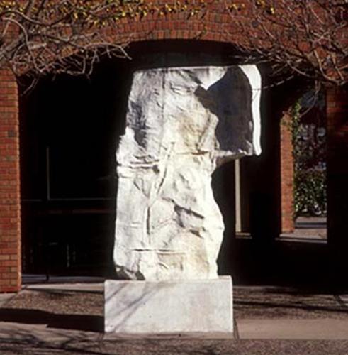 Harry Powers     Paintings and Sculpture Homages Cast Concrete