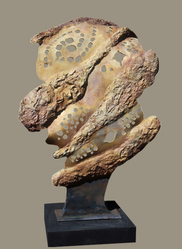 Harry Powers     Paintings and Sculpture Earthscape Cast Bronze
