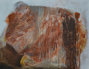 Harry Powers     Paintings and Sculpture Earthscape acrylic on canvas