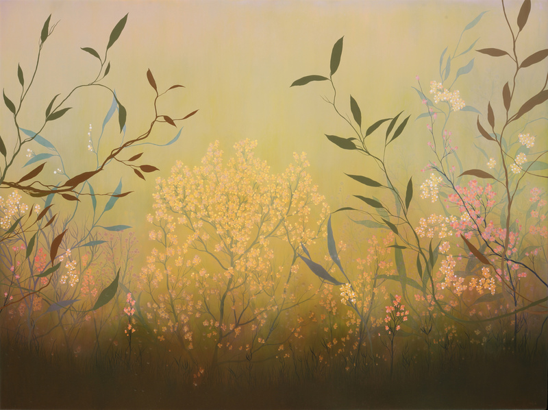 IVY JACOBSEN Available Paintings oil & resin on wood panel