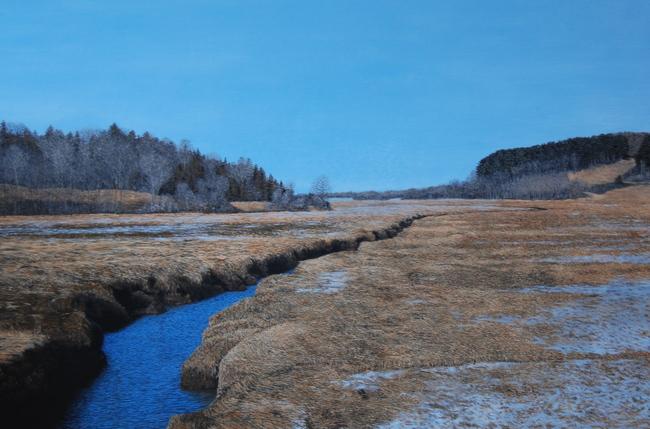 Winter Marsh II
