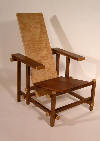 Chair, after Gerrit Reitveld