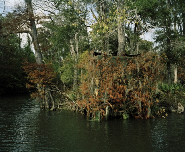 Stackpole Island, from the series 'Duck Blinds of Louisiana'