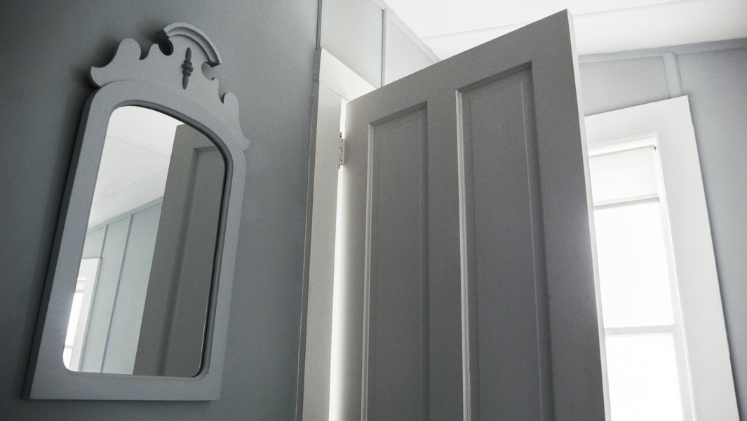 Bedroom Mirror, Annisquam MA<br/>