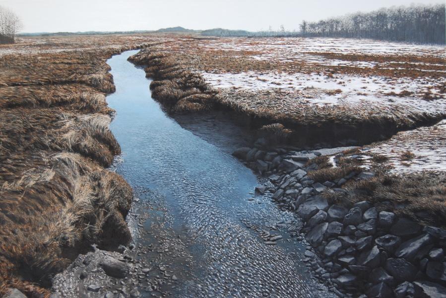 Winter Marsh I<br/>