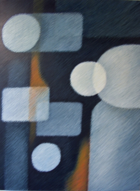 Janine Brown BGO Series Acrylic on Linen