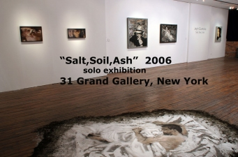 "Jeph Gurecka solo exhibition, ""Salt, Soil, Ash""  2006 31Grand Gallery, Brooklyn, New York 31Grand Gallery  New York  USA"