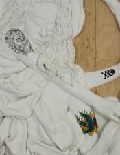 "Jeph Gurecka solo exhibition, ""Shiny Bright Souvenir"", 2008 31Grand Gallery, New York, NY. Detail"