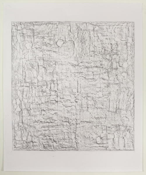 JESSICA DICKINSON remainders graphite on paper