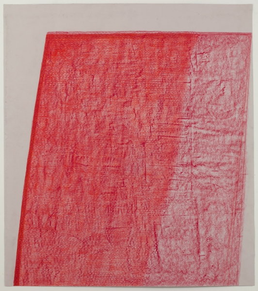 JESSICA DICKINSON traces wax oil pastel on paper