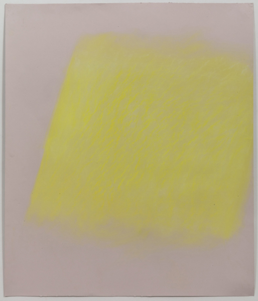 JESSICA DICKINSON traces pastel wax oil pastel on paper