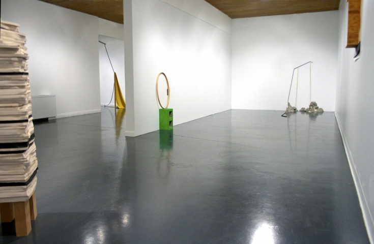 Jillian Conrad On Tenterhooks            (Curated by Marie Heilich)    2011