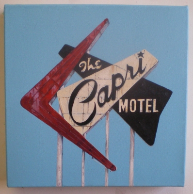 Joseph Borzotta Signs Acrylic on canvas