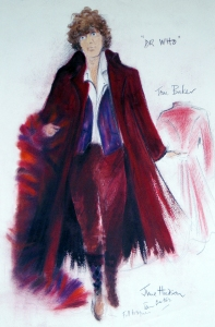June Hudson Design Archive Gouache, pencil crayon and pastel