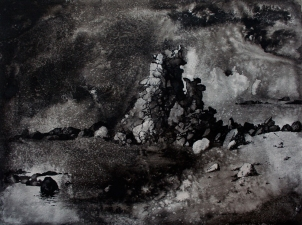 Katherine Sullivan Seascapes, Works on Paper Pen and Ink on Paper