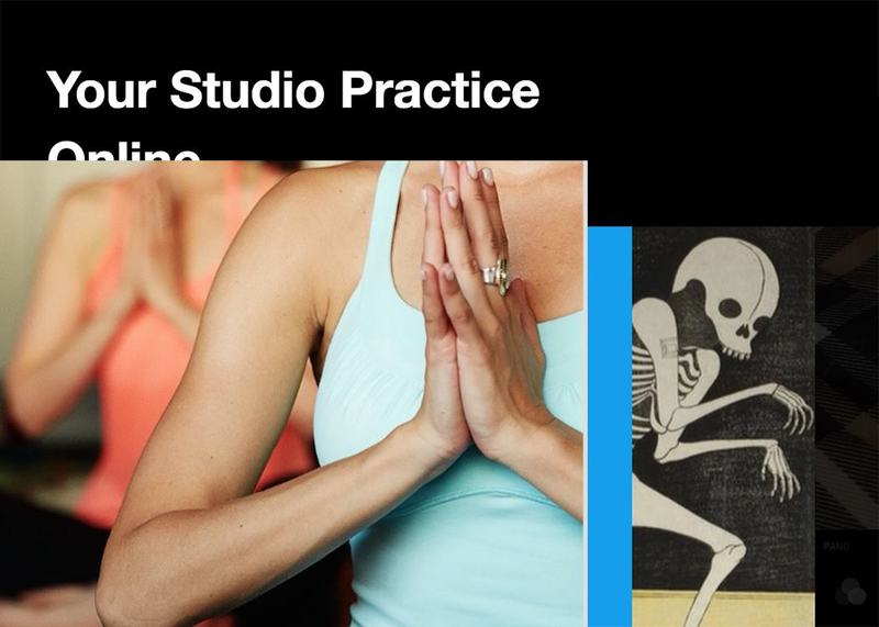 your studio practice online