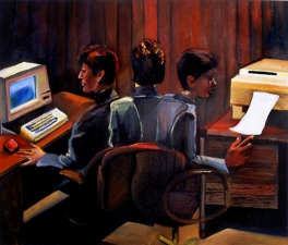 OFFICE PAINTINGS Oil on Canvas