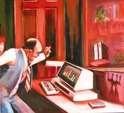 OFFICE PAINTINGS Oil on Linen