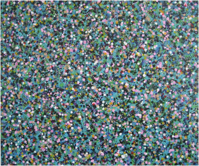 Kiyoshi Otsuka Paintings color acrylic on canvas