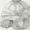 Cereal Bags Graphite on Vellum
