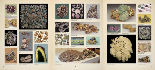 Laura Moriarty Artist's book, 'Table of Contents' Print Composite