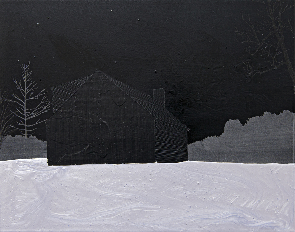 2012-present: Paintings and Drawings Memory of Snow series