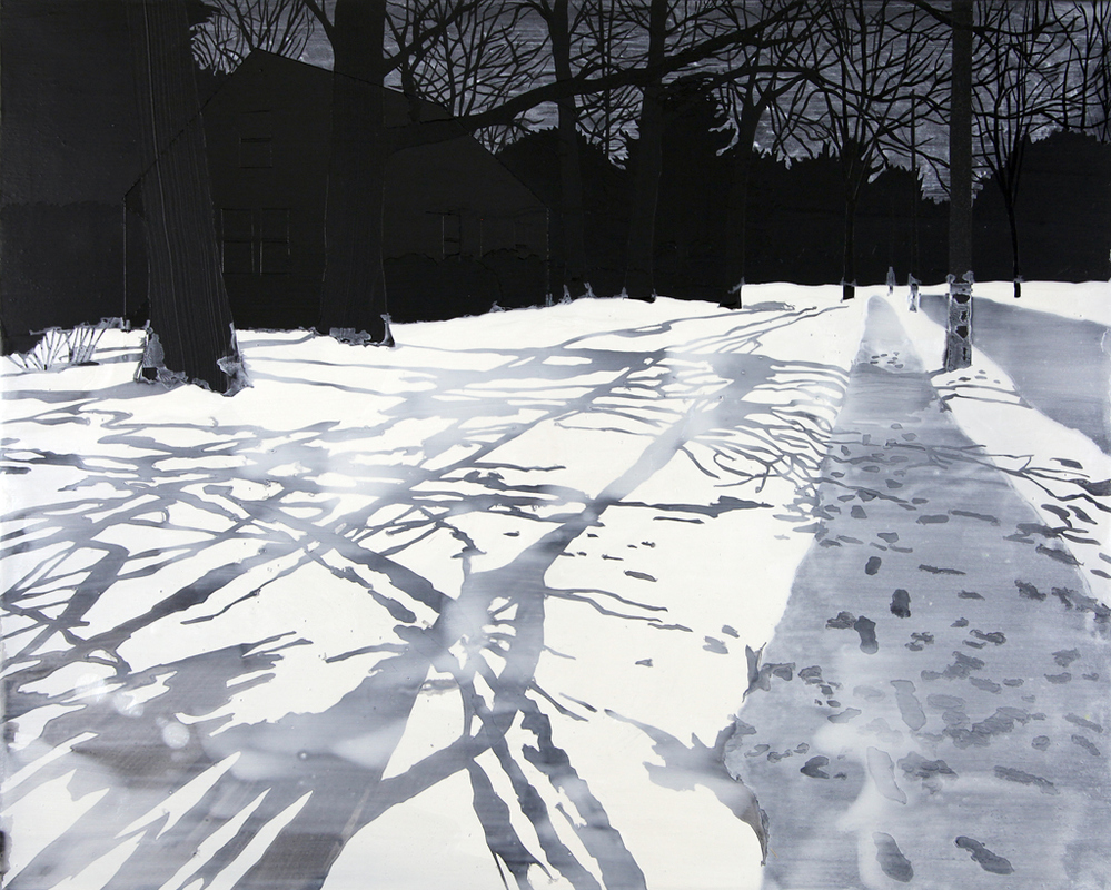 2012-present: Paintings and Drawings untitled, from Memory of Snow series