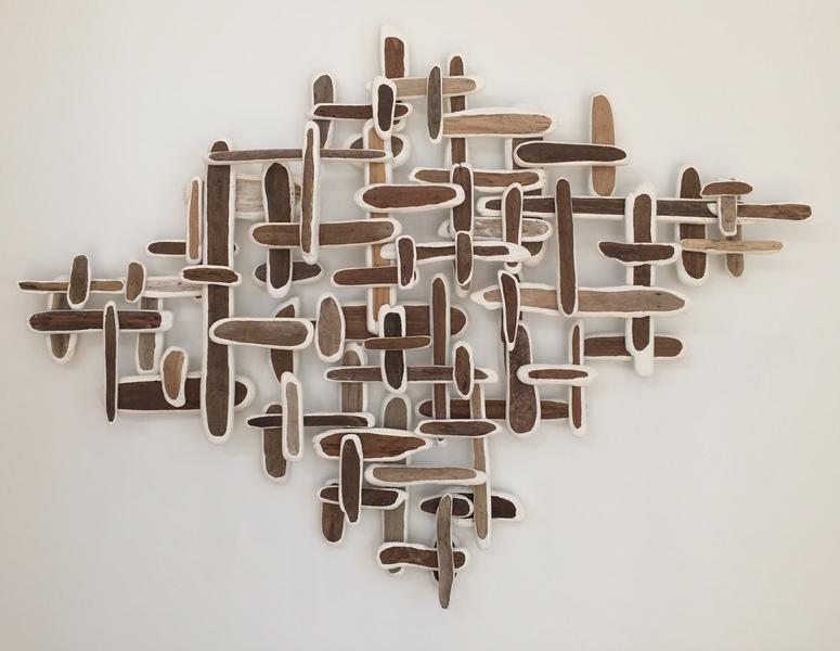 sculpture/installation Diamond Driftwood