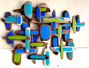 sculpture/installation Acrylic/Wood
