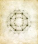 "Luisa Sartori go to ""Around the Center"" images Graphite, oil on paper"