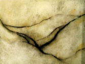"Luisa Sartori go to ""Lines"" images Gesso, oil on paper"