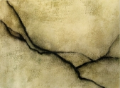 "Luisa Sartori go to ""Lines"" images Gesso,oil on paper"