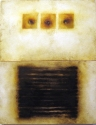 """Luisa Sartori go to """"Lines"""" images Oil on wood"""