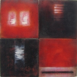 """Luisa Sartori go to """"Small Works"""" Oil, gesso on wood"""
