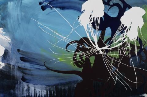 Marina Kappos Tokyo Acrylic on Canvas