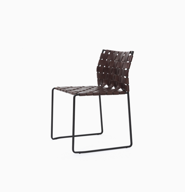 Side Chair Side Chair - Wide Strap, Tight Weave