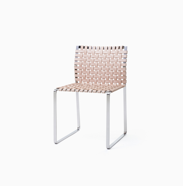Side Chair Side Chair - Narrow Strap - Polished with Natural Leather