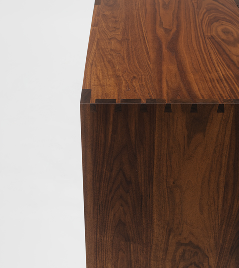Hardwood Credenza Dovetails