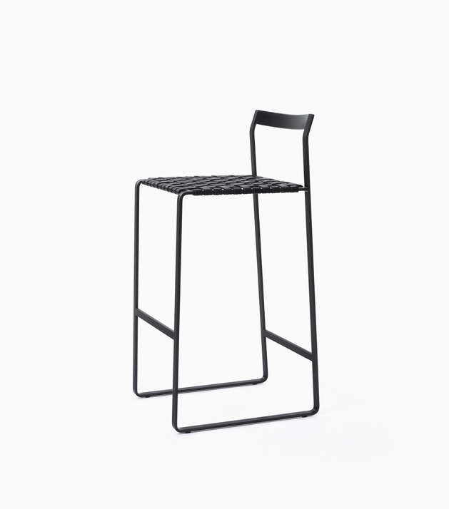 Stool Metal Back Bar Stool
