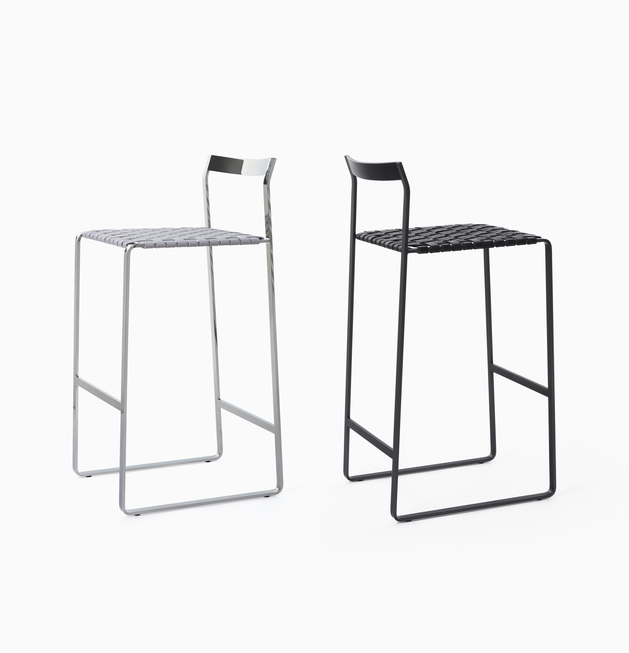 Stool Metal Back Bar Stools